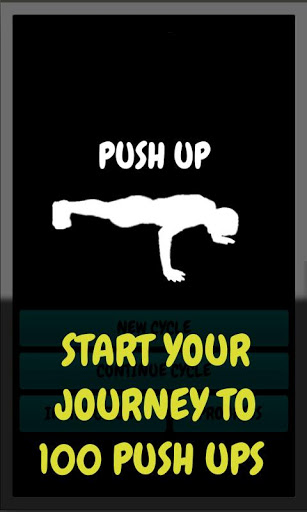 Push Up - workout routine