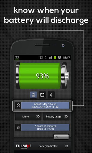 Battery Indicator Widget