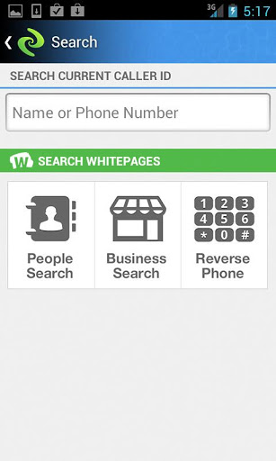whitepages current caller id