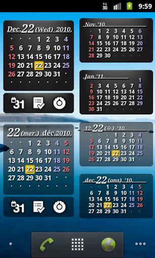 S2 kalenderwidget 2