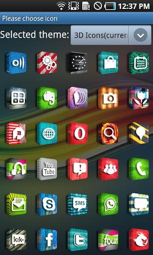 3D Icons GO LauncherEX Theme-2