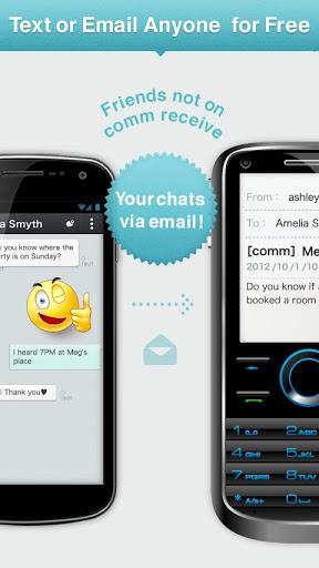 Comm - Free calls, texts-1