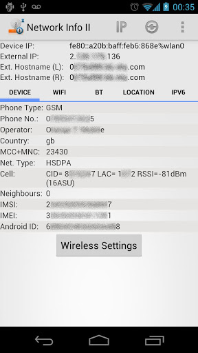 Network Info Free II APK Download For Android (latest version)