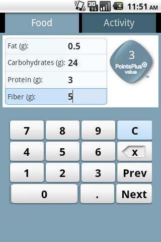 PointsPlus Calculator