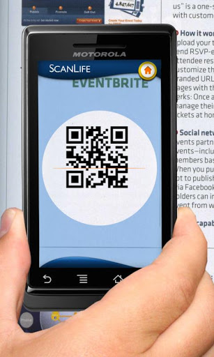 how to download qr code with only camera