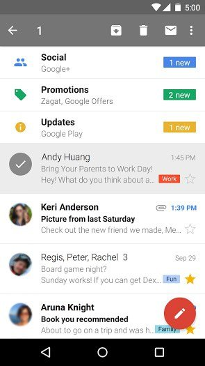 Gmail APK Download for Android | Manage Gmail Accounts
