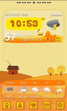 Autumn Theme GO Launcher EX-1
