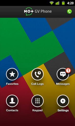 Google 보이스 및 GTalk-1 용 전화