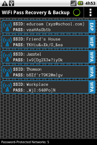 wifi password viewer root apk