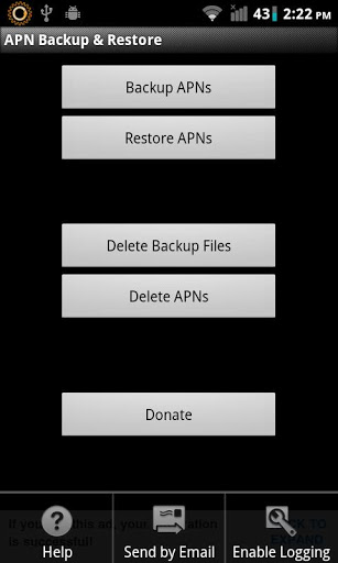 APN Backup & Restore | APK Download For Android