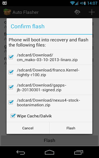Auto Flasher ROM flash utility-2