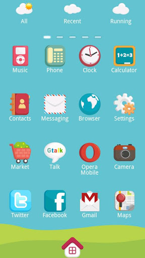 Mini.Trai Theme GO Launcher Ex-2