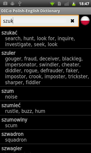 Polish - English offline dict.-2