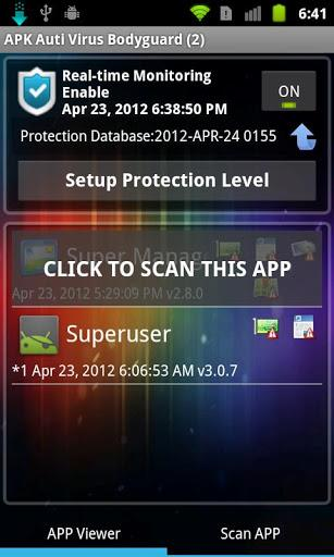 APK Anti-Virus Bodyguard-1