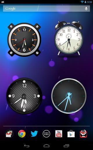 Analog Clock Widget-2