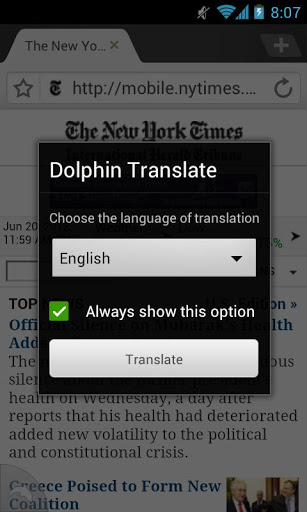 Dolphin Translate Addon For Free | APK Download For Android