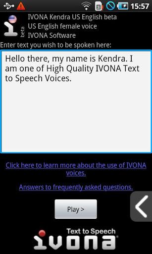 IVONA Text-to-Speech HQ-2