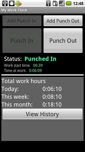 My Work Clock-1