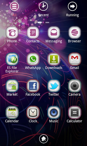 WIDE Theme GO Launcher EX-2
