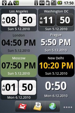 World Clock Widget-1