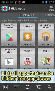 2 Hide Apps (hide system apps)-1