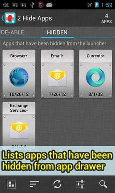 2 Hide Apps (hide system apps)-2