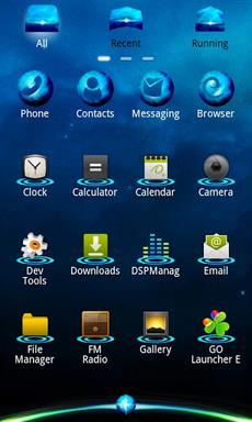 Blue Planet Theme Go Launcher Apk Download For Android
