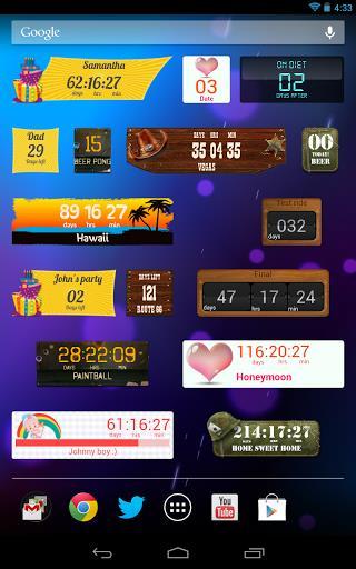 Countdown Widget-1