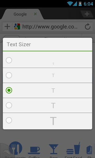 Dolphin - Text Sizer Addon