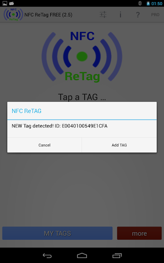 NFC ReTAG Free APK for android | APK Download For Android