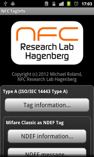 NFC TagInfo APK for android | APK Download For Android