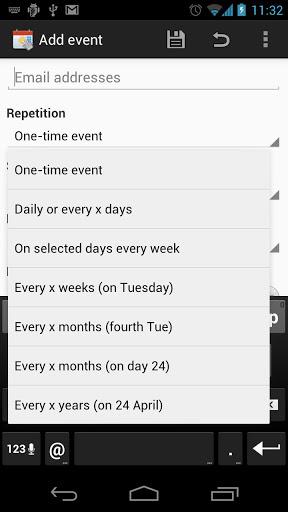 Touch Calendar Free-2