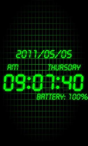 Battery Clock-1