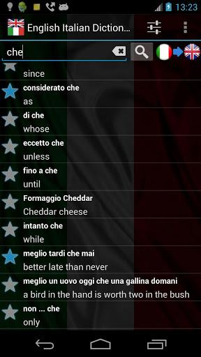 English Italian Dict. FREE-2