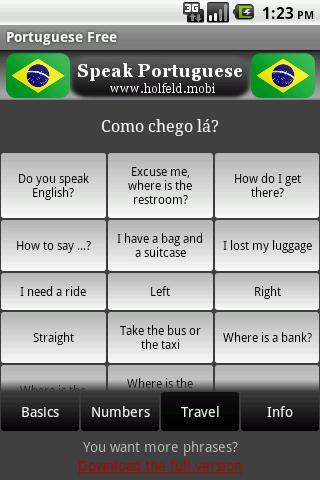 Speak Portuguese Free-2