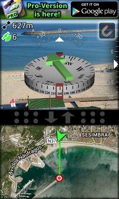 AR GPS Compass Map 3D-2
