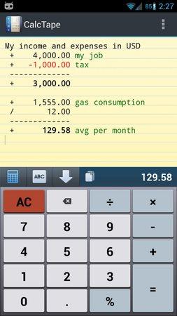 CalcTape Free Tape Calculator-1