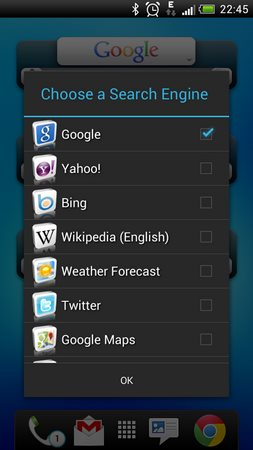 Quick Search Widget Free-2