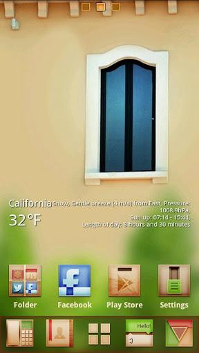 Window GO Launcher Theme-1