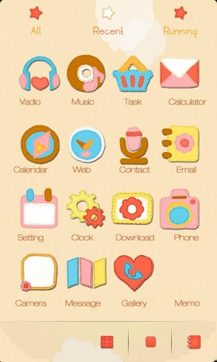 ZCute GO Launcher Theme-2