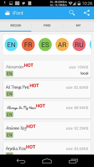 iFont (Expert of Fonts) | APK Download for Android