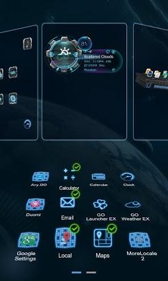 Future Next Launcher 3D Theme-2