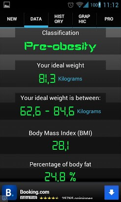 Weight Recorder BMI free-2