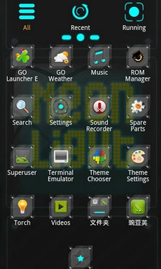Neonlight Theme GO Launcher EX-2
