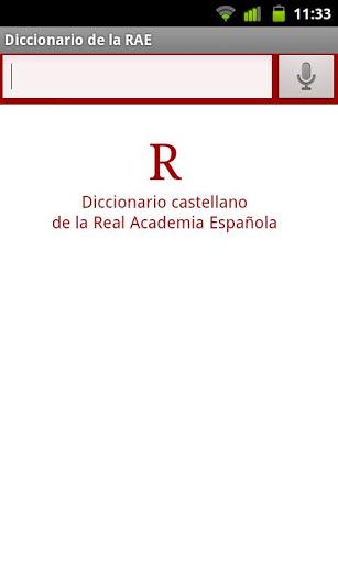 RAE Dictionary-1
