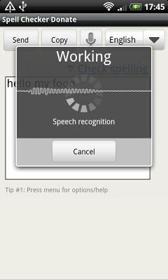 Spell Checker (+voice input)-2