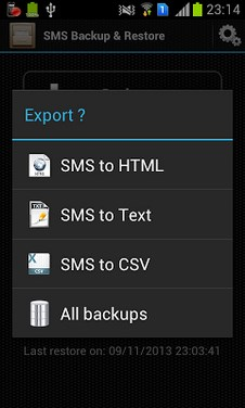 Android SMS Backup & Restore-2