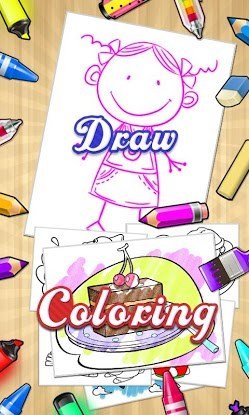 Draw+Coloring Books