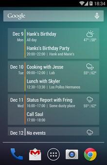 Evenementstroomkalender Widget-2