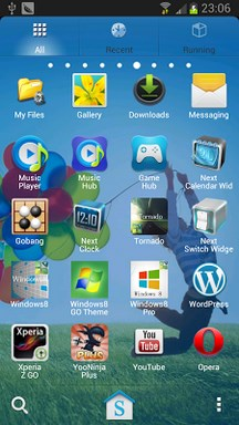 Galaxy S4 Go Launcher EX Theme-2